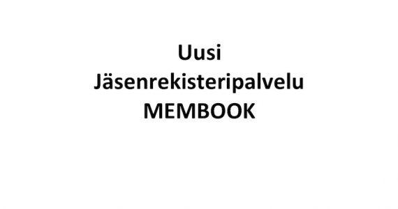 Uusi jäsenrekisteripalvelu Membook 2